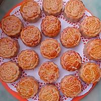 白芸豆馅的广式月饼