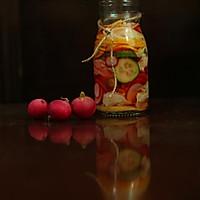 醋泡樱桃萝卜
