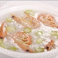 游水鲜虾粥