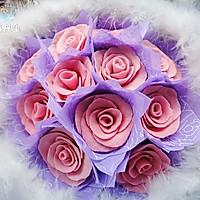 白**人节——巧克力玫瑰花束(附包装法)