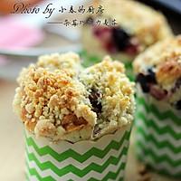 口感超级丰富的杂莓巧克力麦芬#长帝烘焙节#