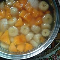一锅香蕉木瓜酒酿汤
