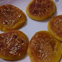 南瓜杏仁肉松煎饼