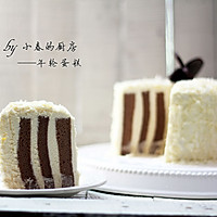 切开有惊喜的年轮蛋糕#长帝烘焙节#