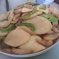 杏鲍菇肉丝