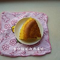 巧用电饭煲做海绵蛋糕