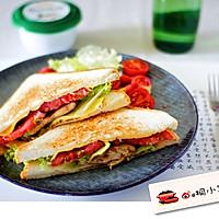 黑椒鸡排三明治
