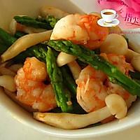 虾仁芦笋蟹味菇