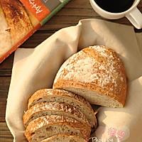 5分钟面包(4)-低成分全麦面包light whole wheat bread