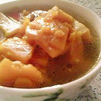 电热锅版南瓜片汤