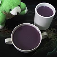 紫薯燕麦糊