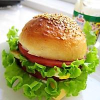 自制汉堡胚(中种冷藏法)