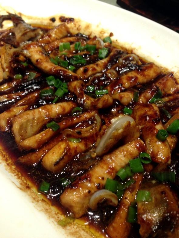 鲟鱼豆豉蒸