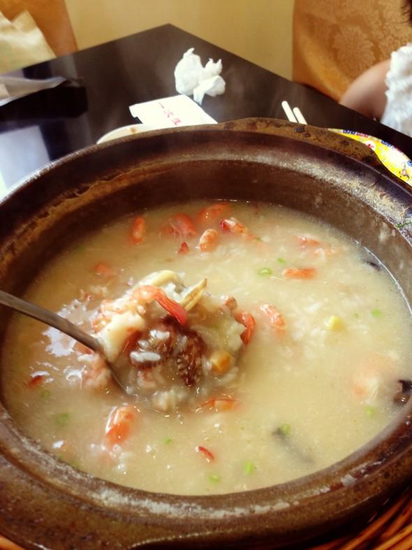 潮汕海鲜粥