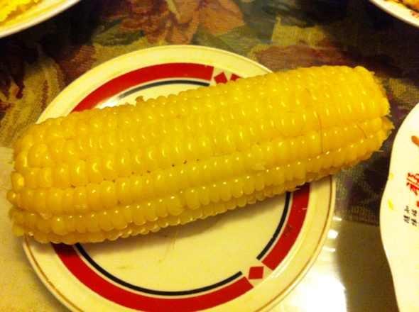 一粒玉米简笔画