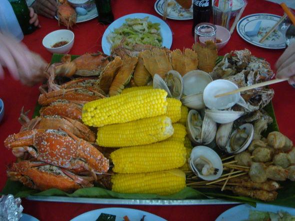 泰国芭提雅海鲜大餐