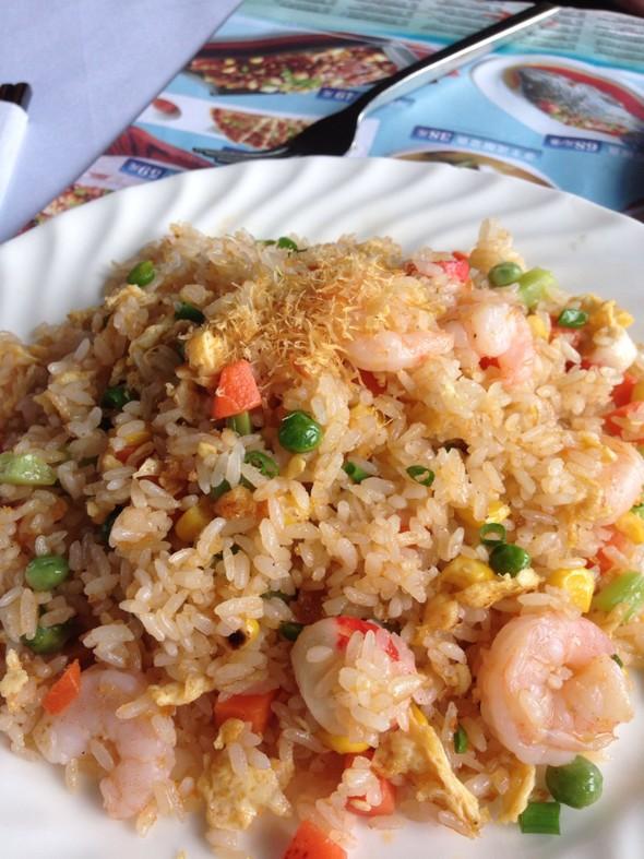 海鲜虾酱炒饭