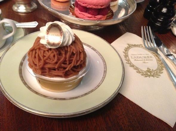 栗子蛋糕(下午茶)