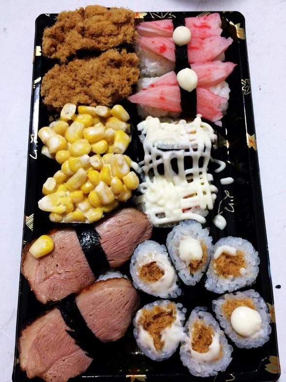 下午茶:寿司拼盘