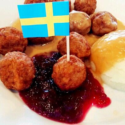 瑞典肉圆土豆泥