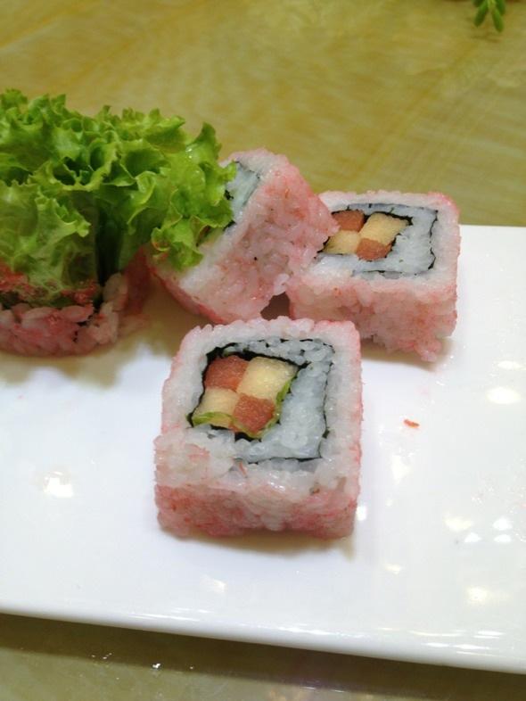 水果寿司图片