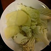 老蜀人(白菜+金针菇+菜花+土豆)