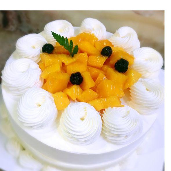 榴莲芒果冰淇淋蛋糕