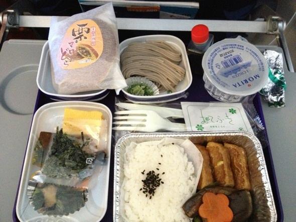 这算是我吃过东航最好吃的飞机餐了