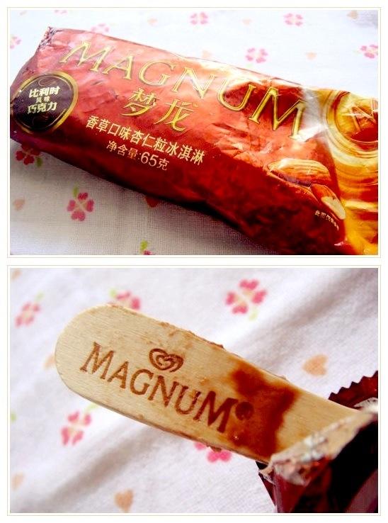 梦龙香草口味杏仁粒冰淇淋