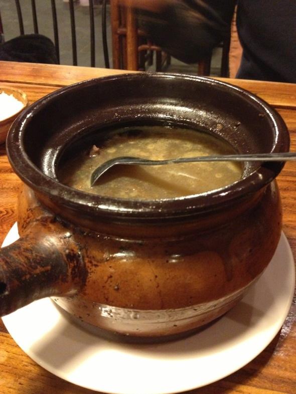 茶树菇老鸭汤_鸥酱的美食日记