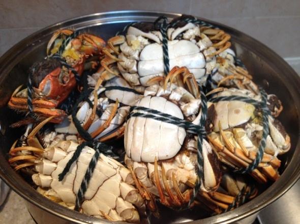 干蒸螃蟹_下午茶妖妖的美食日记
