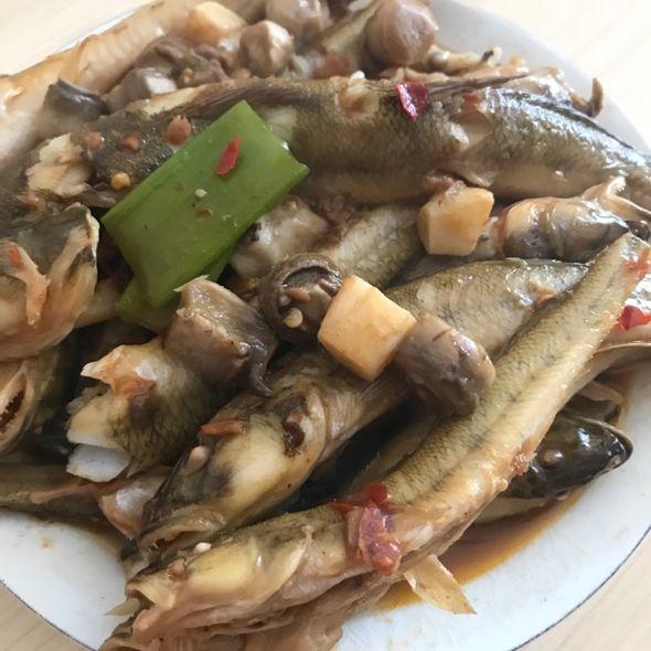 红烧野生大头鱼
