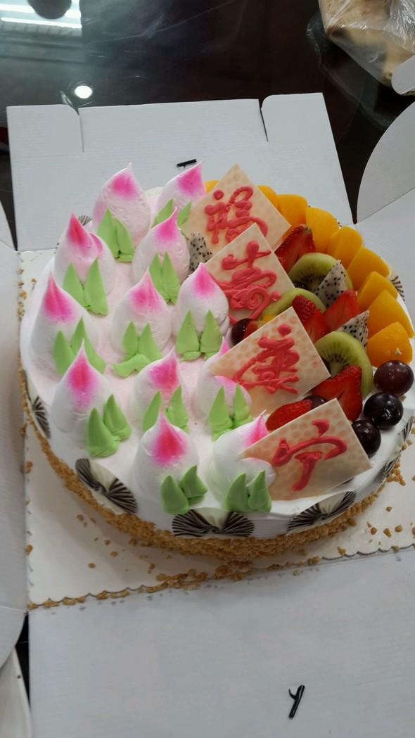 蛋糕 面包/寿桃蛋糕
