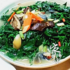皮蛋瘦肉小甜菜汤