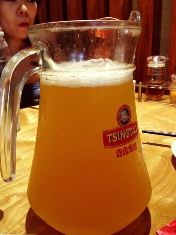青岛原浆啤酒