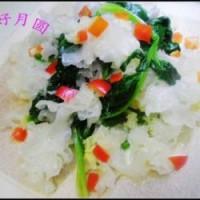 银耳拌菠菜