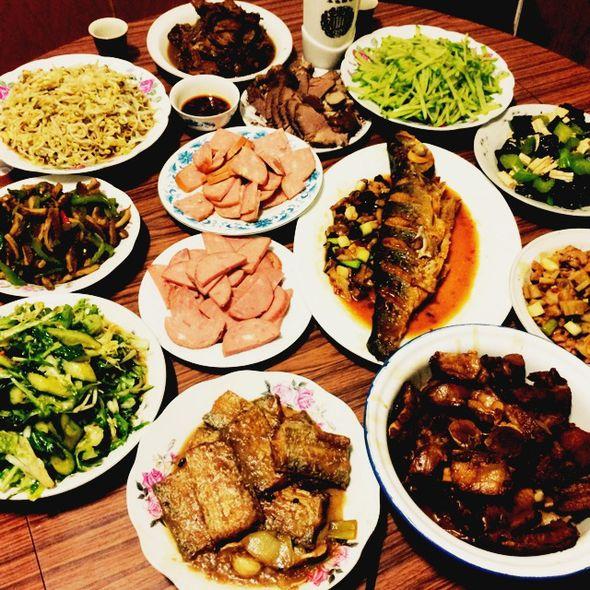 大年初一一桌菜_梓怿碧海蓝天的美食日记_豆果美食