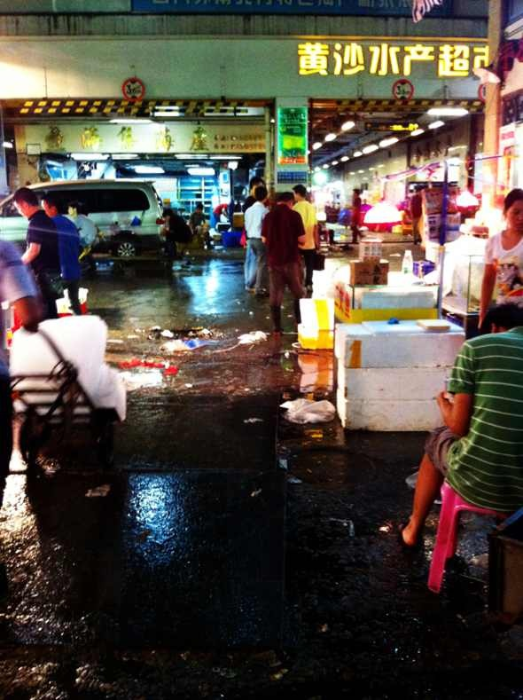 广州水产市场_广州市黄沙水产市场怎么走?