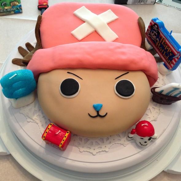 乔巴生日蛋糕