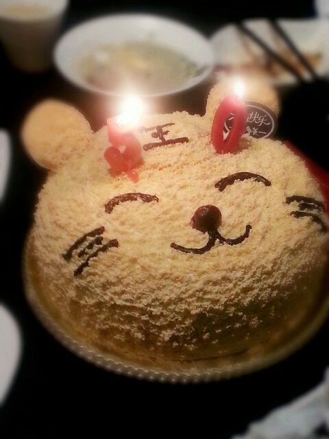 爸爸的生日蛋糕
