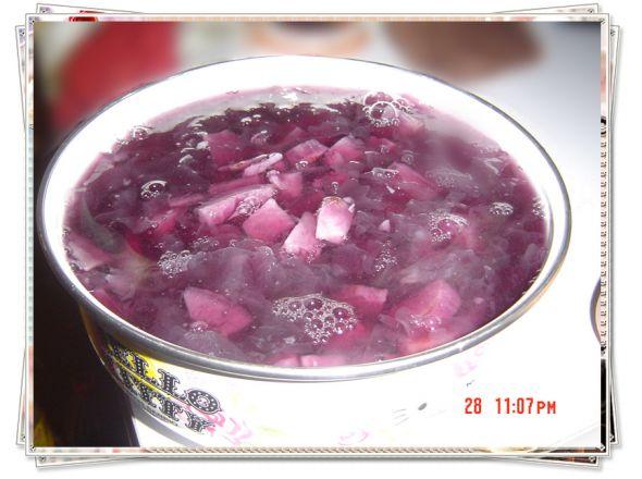 紫薯银耳糖水_飞儿的美食日记