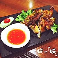 曼谷街头烤鸡