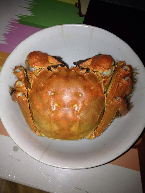 蒸螃蟹_camilleqm的美食日记