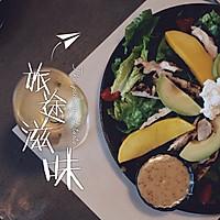 芒果牛油果鸡肉沙拉