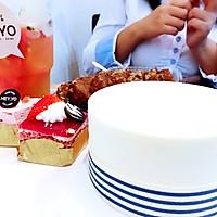 牛奶蛋糕 水果茶