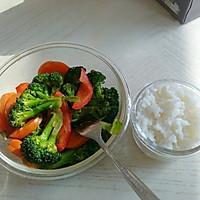 西兰花胡萝卜