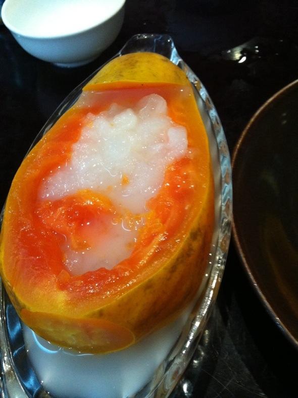 木瓜炖雪蛤_樱桃控的美食日记