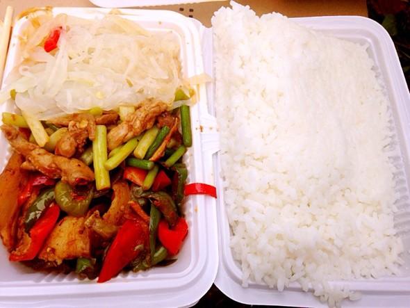 工作餐,盒飯