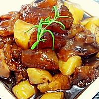 牛蹄筋烧土豆