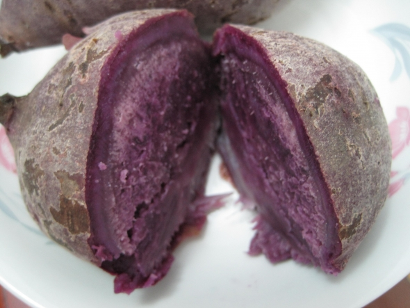 紫薯_南南的美食日记